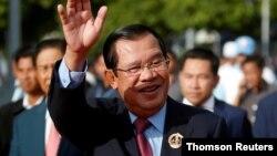 Ông Hun Sen tại một sự kiện hôm 28/7/2019.