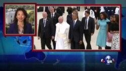 VOA连线:奥巴马教宗会晤不谈政治 谈价值观