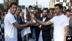 اولین مسابقات والیبال ساحلی در افغانستان