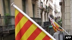Cờ vàng bốn sọc đỏ ở Barcelona