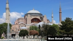 Hagia Sophia. (Foto: Mem Botanî/VOA)