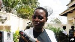 Janet Kabila, rais wa wakfu ya Mzee Laurent Kabila, dadake rais Joseph Kabila