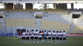 Gratë arabe dhe futbolli
