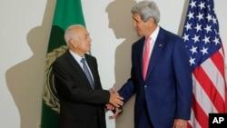 """美国国务卿克里在中东地区寻求打击""""伊斯兰国""""的支持与联盟"""