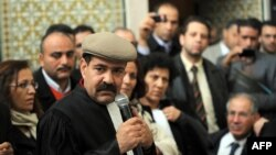 Chokri Belaid, leader of the opposition Popular Front in Tunisia, pictured on Dec. 29, 2010.