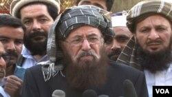 طالبان کی مذاکراتی کمیٹی کے سربراہ مولانا سمیع الحق