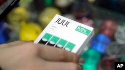 Запрет должен был коснуться и продукции Juul - одного из самых популярных брендов электронных сигарет