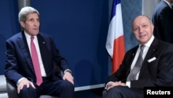 John Kerry ve Laurent Fabius