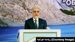 """آقای عبدالله، در کنفرانس بینالمللی""""آب برای توسعۀ پایدار"""" سخنرانی کرد"""
