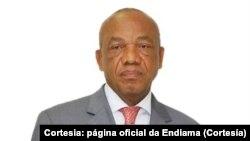 José Manuel Ganga Júnior, presidente da Endiama