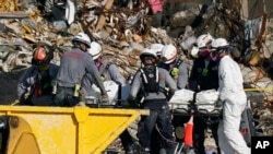 Building Collapse Miami Human Remains