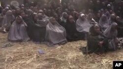 Des jeunes filles enlevées par Boko Haram ont pu être identifiées grâce à la vidéo diffusée par la milice extrémiste islamique