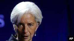 國際貨幣基金組織總裁拉加德表示中國是時候再放鬆一些貨幣政策。(資料圖片)