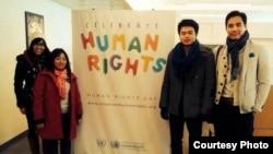 紐約越南人士為越南人權呼籲奔走。