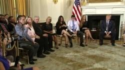 Trump Listens to Survivors of School Shootings