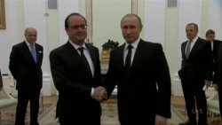 Putin Pledges Cooperation With France In Fight Against IS