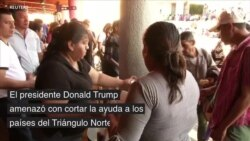 Respuesta de migrantes, tras anuncio de Donald Trump de acortar presupuesto