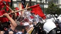 ایتھنز میں مظاہرات