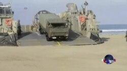 美日等多国在加州沿海开始大规模军演
