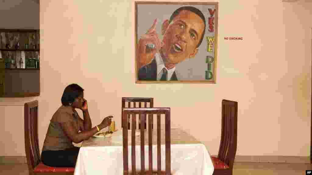 Africa Obama Mania (Gana)