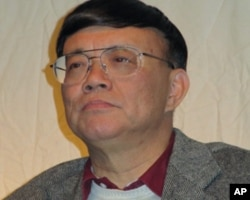 加州大学图书馆主任宋永毅(美国之音容易拍摄)
