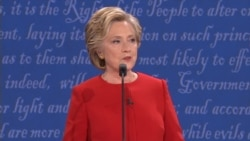 Clinton Opening Statement 'Need to Build an Economy That Works For Everyone'