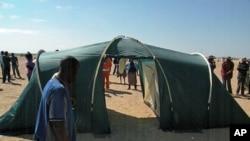 Ajuda chegou às vitimas das cheias. Governo e organização não governamental enviaram tendas e outra ajuda