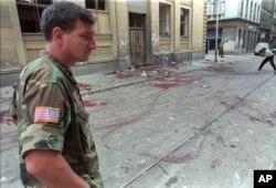 Masakr na pijaci Markale u avgustu 1995.