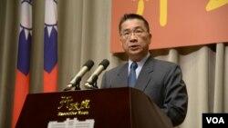 台灣行政院發言人徐國勇 (行政院提供)