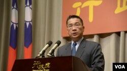 台湾内政部长徐国勇 (资料照片)
