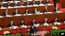人大副委员长王兆国就刑法修正案做出说明