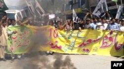 Протест у пакистанському місті Музаффарабад