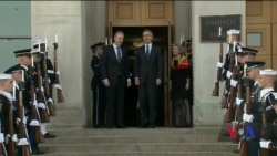 Долю НАТО і можливу мирну угоду в Афганістані обоговорили зі Столтенбергом у Вашингтоні. Відео