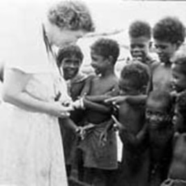 Margaret Mead traveled to Samoa and New Guinea to research the countries and their cultures