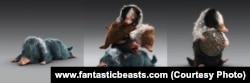 Niffler ใน Fantastic Beast