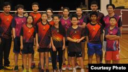 Capital Badminton Academy pimpinan diaspora Indonesia, Malik Basri di AS (dok: Malik Basri)