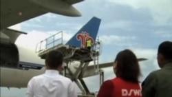 中國援助菲律賓物資抵達宿務
