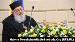 Кардинал Любомир Гузар в Університеті імені Франка. Львів, 7 жовтня 2015 року