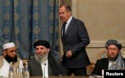 Rossiya afg'on guruhlari o'rtasida uchrashuvlarga mezbonlik qilgan, 2018-yil noyabr