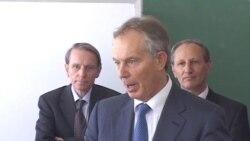 Tony Blair në Kosovë
