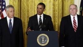 Predsednik Obama nominovao Čaka Hejgela za novog Sekretara za odbranu i Džona Brenana za novog direktora CIA-e