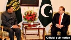 بھارتی ہائی کمشنر کی وزیراعظم شریف سے ملاقات