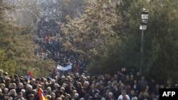 Երևանում զանգվածային ցույց է անցկացվել