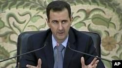 叙利亚总统巴沙尔·阿萨德(资料照)