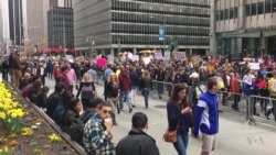 Marchers in NYC to Trump: Release Your Tax Returns