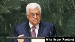 رئیس تشکیلات خودگردان فلسطین در نشست مجمع عمومی سازمان ملل خواستار پایان یافتن اشغال سرزمین های فلسطینی و استقلال آن کشور شد.