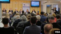"Konferencija ""Veliko proširenje - pouke za zapadni Balkan"" u Medijacentru u Beogradu, 7. maja 2019."