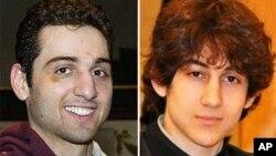 보스톤 테러 용의자 타메를란 (왼쪽)과 조하르 (오른쪽) 차르나예프 형제. 타메를란은 연방 수사국과 총격전으로 사망하고 조하르는 생포되었다.