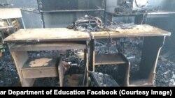 صنف کمپیوتر پس از آتشسوزی