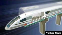 울산과학기술원(UNIST)이 공개한 '꿈의 열차' 컨셉트.